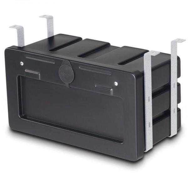 Kunststoffstaukasten PE schwarz 600x460x500mm Typ1