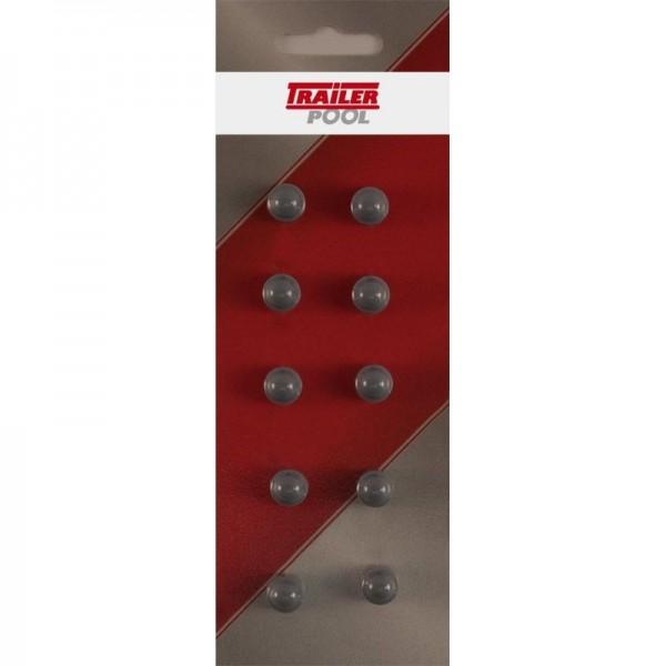 10 x Sechskant-Schutzkappe f. Schraube M5, SW 8 mm