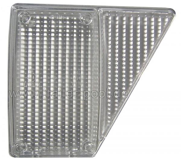 Westfalia Lampenglas rechts weiß 118 211 323 105