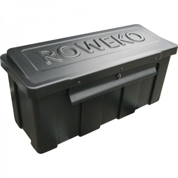 Kunststoff-Staubox mit schrägem Deckel 720 x 280